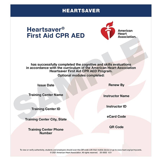 Heart Saver First Aidcpraed Skills Heartsaver Facpraed Skills