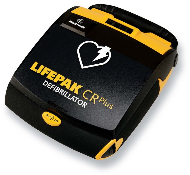 Lifepak CR Plus AED - Click Image to Close